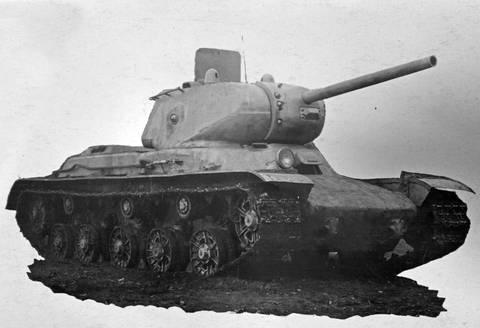КВ-13 («Объект 233») - средний танк 9XB7i