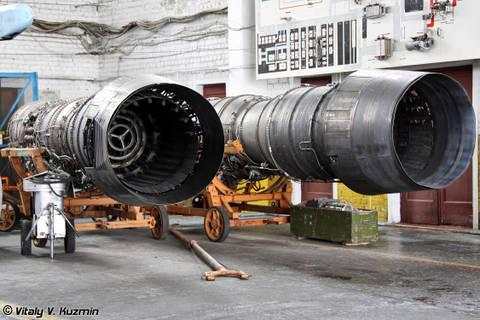 Д-30Ф-6 - авиационный турбореактивный двухконтурный двигатель Kp7EW