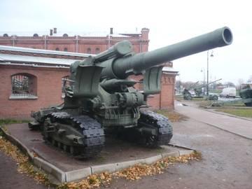 203-мм гаубица образца 1931 года Б-4  (Артиллерийский музей С.Петербург 2013) NSW5w