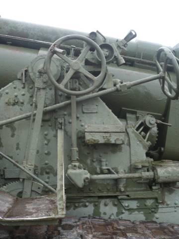 203-мм гаубица образца 1931 года Б-4  (Артиллерийский музей С.Петербург 2013) WH3s1