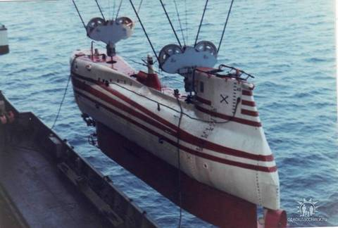 Проект 1832 «Поиск-2» - глубоководный аппарат WeXSA