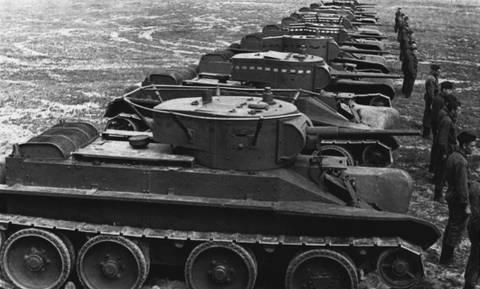БТ-5 - лёгкий колесно-гусеничный танк G6yUN