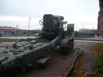 203-мм гаубица образца 1931 года Б-4  (Артиллерийский музей С.Петербург 2013) MNiAk