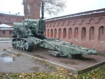 203-мм гаубица образца 1931 года Б-4  (Артиллерийский музей С.Петербург 2013) RTBvw