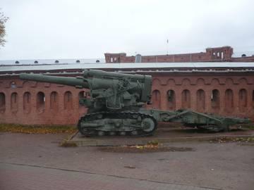 203-мм гаубица образца 1931 года Б-4  (Артиллерийский музей С.Петербург 2013) ZVOXL