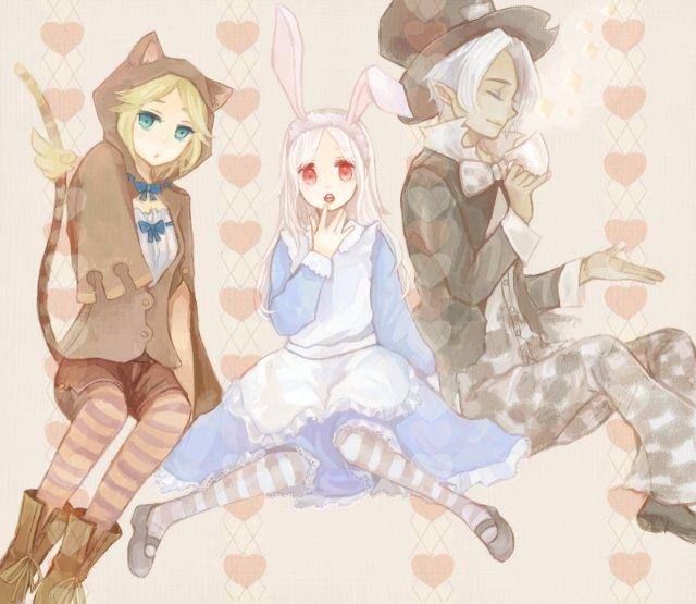 Арты на тему: 'Alice in Wonderland' 47aff1422261