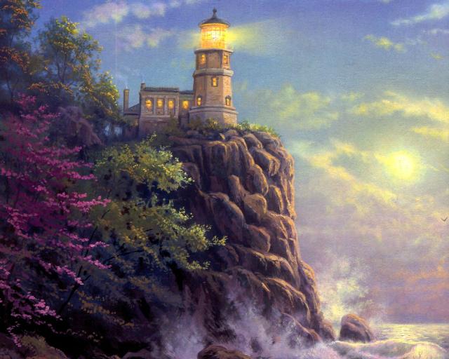 Сказочная реальность Томаса Кинкейда (Thomas Kinkade) Fb6515ff5879