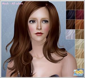 Женские прически (длинные волосы) 41cd64788ed6t