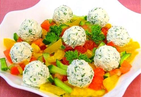 Идеи украшения салатов 84016ed5faff