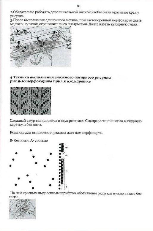 Начальный курс по обучению вязания на вязальной машине SILVER REED   - Страница 5 29d8e7e17f08