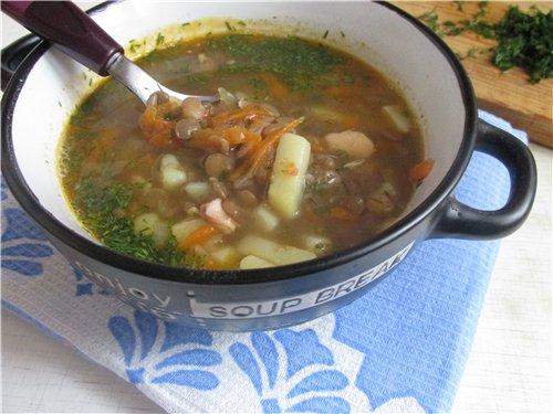Чечевичный суп с курицей 238a6118a015