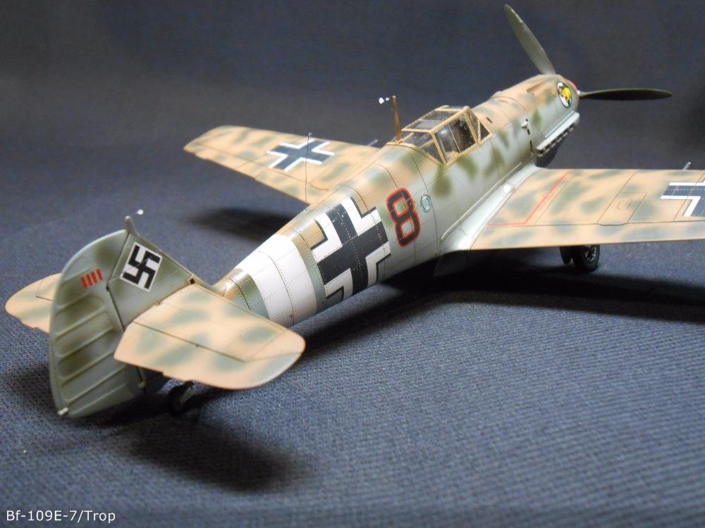 Bf 109 E7/Trop Tamiya 1:48 C43066012624