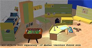 Комнаты для детей и подростков - Страница 2 C6af4366dd30t
