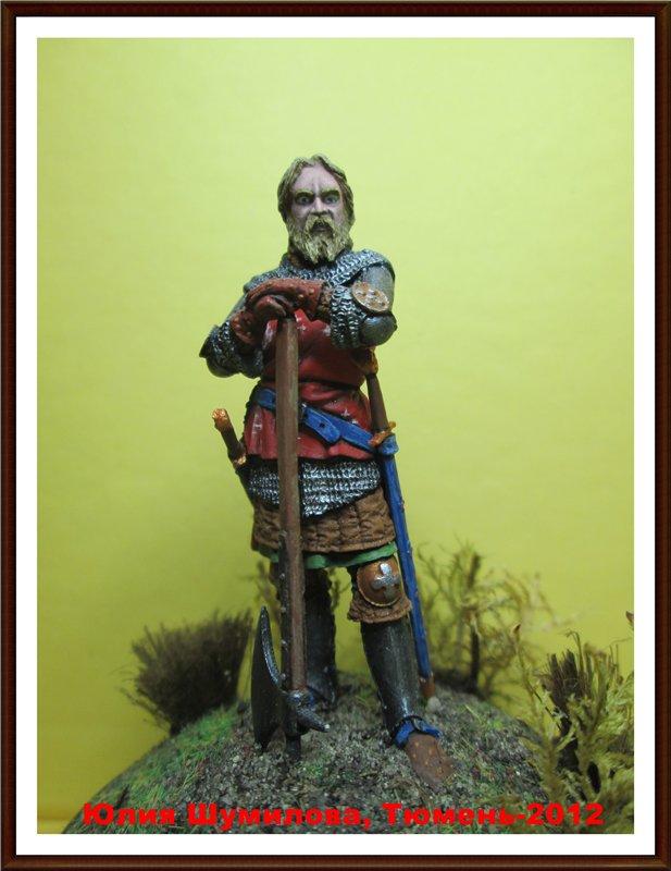 Рыцарь с боевым топором, 14 в.  2b82906745a4