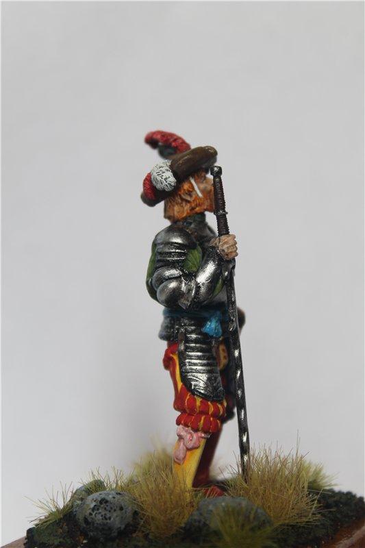 Ландскнехт с мечом, 16 век, 54мм. C3e6657a7c03
