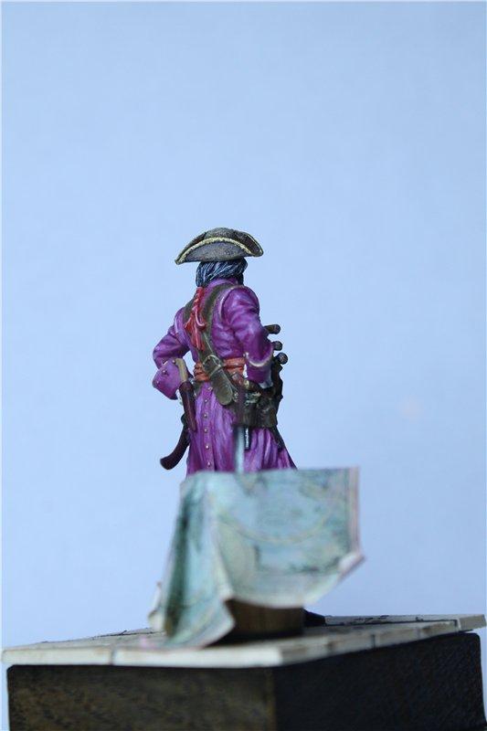 Пират Черная Борода пластик от ПРАПОРА 54мм 04b61963bd2f