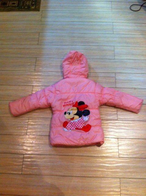 Курточка и теплое пальто на девочку р.104-110 24b4eee0fb00