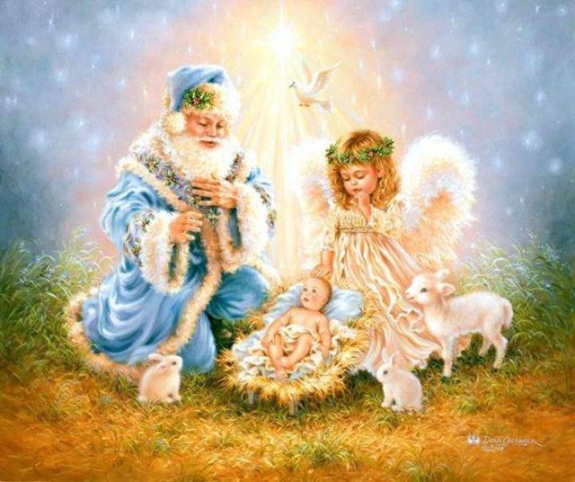Рождественские ангелы от Dona Gelsinger E53007ec77ac