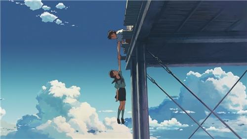 За облаками. Обещание юности (Обещанное место за облаками) / Beyond the Clouds, The Promised Place /  Kumo no Mukou, Yakusoku no Basho / 雲のむこう、約束の場所  (2004 г., полнометражный)  D0ed970cee62