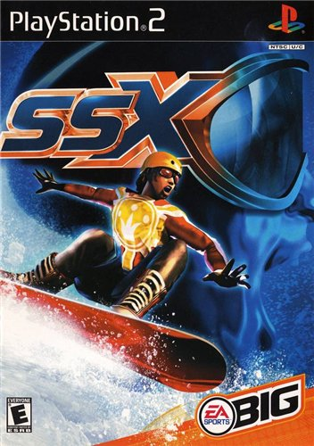 Play station 2 -SSX Dbe63cb295d0
