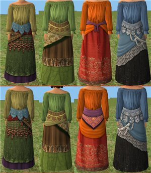 Старинные, восточные наряды, костюмы - Страница 2 A5059a57502d