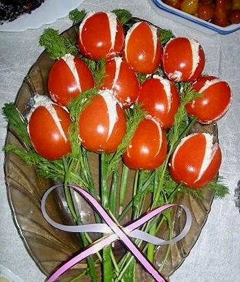 Идеи украшения салатов B8fb10ede75e