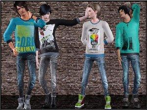 Повседневная одежда (комплекты с брюками, шортами)   - Страница 2 4ef5fa90f318