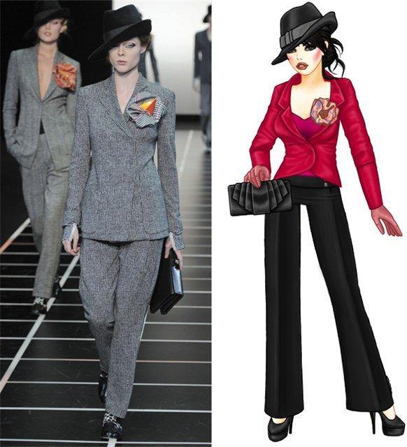 Гардероб наших леді в колекціях fashion дизайнерів - Страница 2 57e99f3c831b