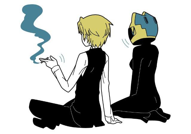 Арт по аниме «Дюрара!» (Durarara!!) Ed204c8ee824