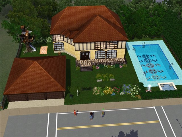 The Sims 3-Клоун-пати 81a99c962097