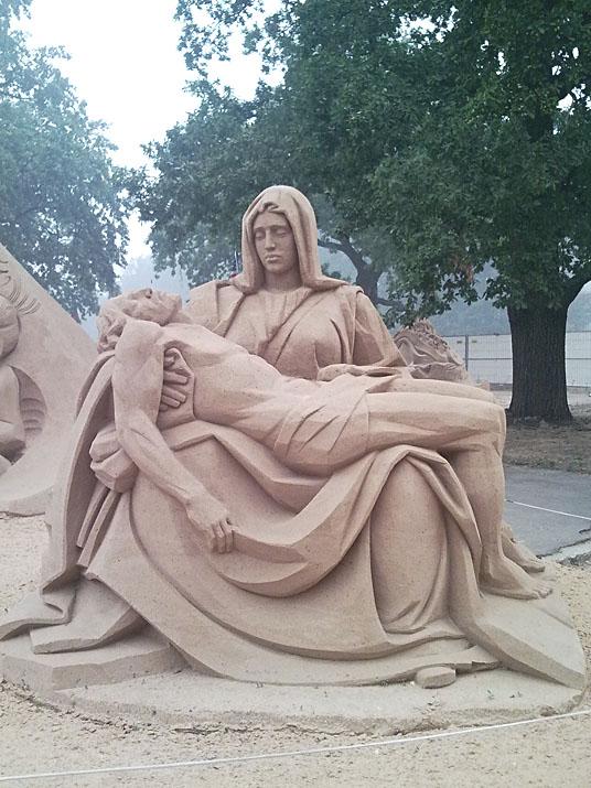 Международный фестиваль песчаной скульптуры на ВВЦ (ВДНХ) 2010 64e1b731c139