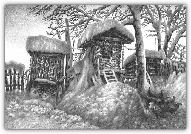 Снег, согревающий душу (Доленджашвили Г.) 50bce14b4fc4
