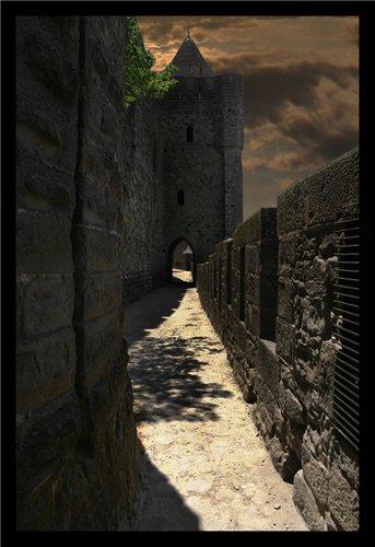 Каркассон (франц. Carcassonne) - город-крепость. 8f05b50cfead