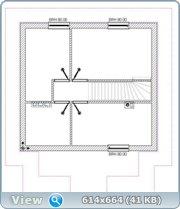Проект часного дома с мансардой  6719fa48355b