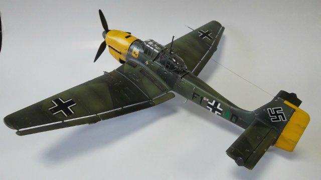 Ju-87 B-2 «Stuka», 1/48, (Tamiya 37008). Afe810d5073c