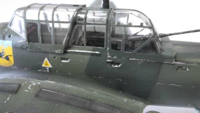 Ju-87 B-2 «Stuka», 1/48, (Tamiya 37008). E9f54338f23c