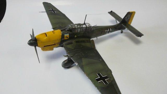 Ju-87 B-2 «Stuka», 1/48, (Tamiya 37008). F56102d7b11a
