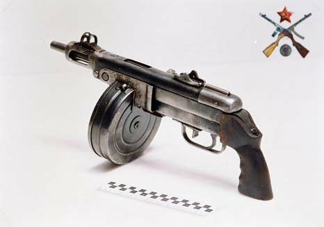 Ствол и ствольная коробка пистолета-пулемета Шпагина (ППШ-41) (ммг) 36865651cc22