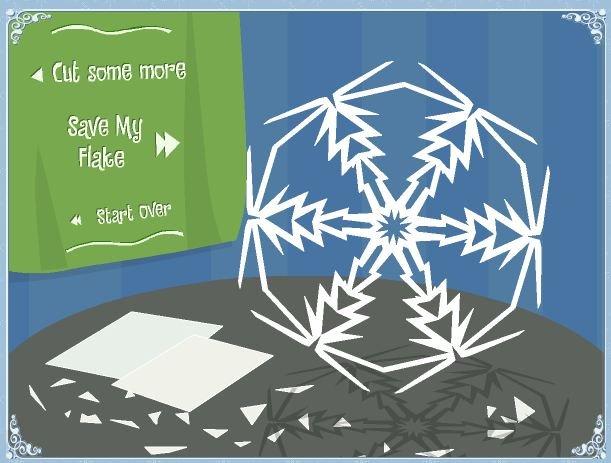 Зимнее рукоделие - вырезаем снежинки! - Страница 3 908de724be52