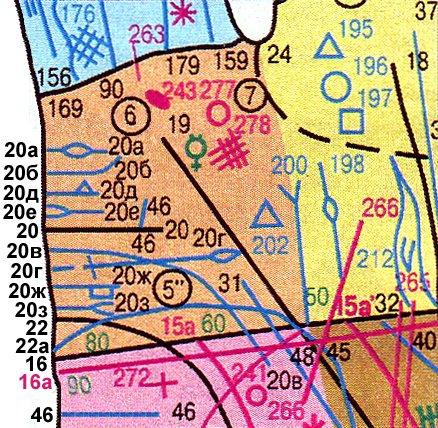 Основные, второстепенные, редкие линии и знаки 70b95593e1f9