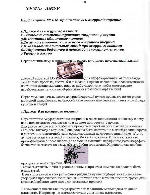 Начальный курс по обучению вязания на вязальной машине SILVER REED   - Страница 4 94905b94282d