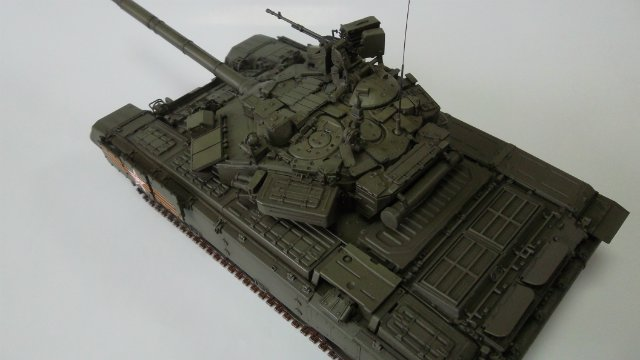 Т-90, 1/35, (Звезда 3573) 7ca25c2afbe4