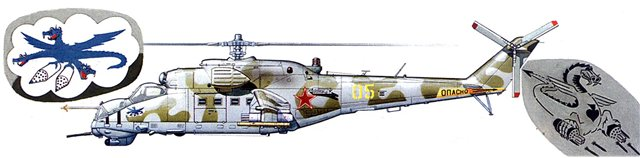 МИ-24В/ВП Звезда, сборка от БТТ шника Cc4e5ada7b06
