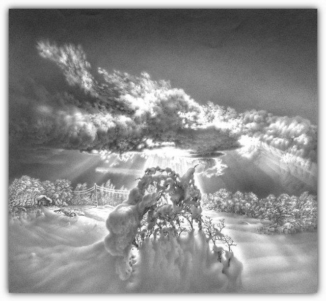 Снег, согревающий душу (Доленджашвили Г.) Bb2942e619ea