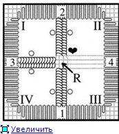 Хардангер Урок: Picots and Diagonal twists 9b44850c2d63t