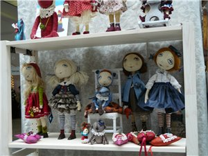 Время кукол № 6 Международная выставка авторских кукол и мишек Тедди в Санкт-Петербурге - Страница 2 15146f6194a1t