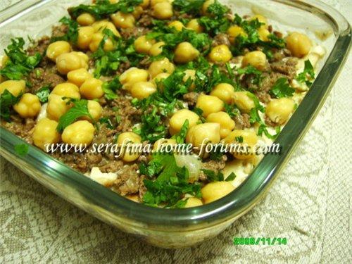 Фатте биль хуммус. Фатта с хуммусом. Арабская кухня E92e3bdaa1ef