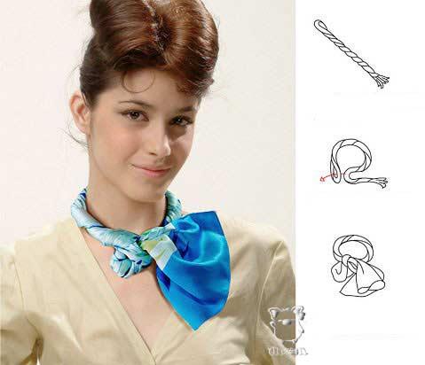 Искусство завязывать платок D6456ae05fd8