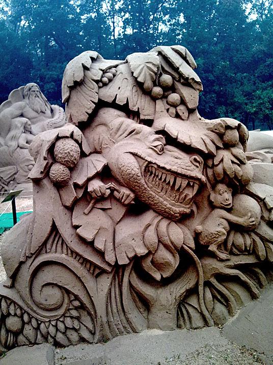 Международный фестиваль песчаной скульптуры на ВВЦ (ВДНХ) 2010 04a63b1b3489
