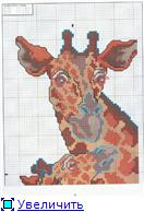 Жирафики - вышивка 91da15da3ffft